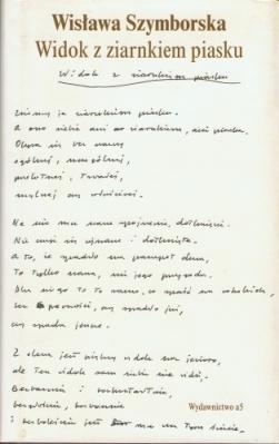 Paisaje en un grano de arena. Wisława Szymborska