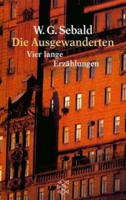 Los emigrados. W. G. Sebald